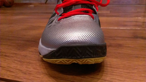 You can see the extra rubber wrapping around the medial side - a design element straight from CP3 himself.
