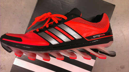 new product 6e27b 0e5a8 TGRR Blog: First Impressions of the adidas Springblade | The ...